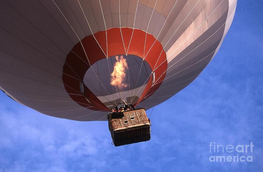 Balloon Photograph - Take Off by Heiko Koehrer-Wagner