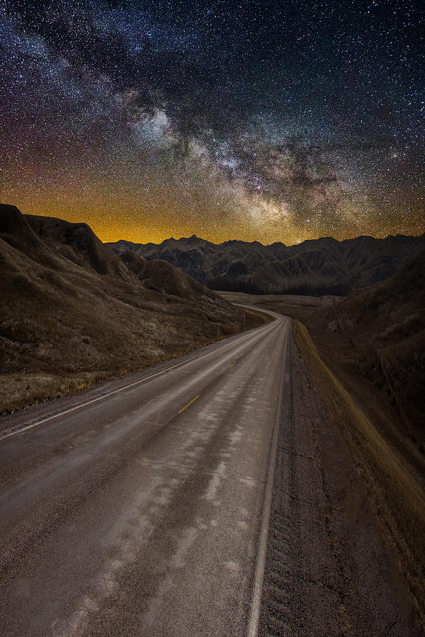 Take The Long Way Home Photograph By Aaron J Groen