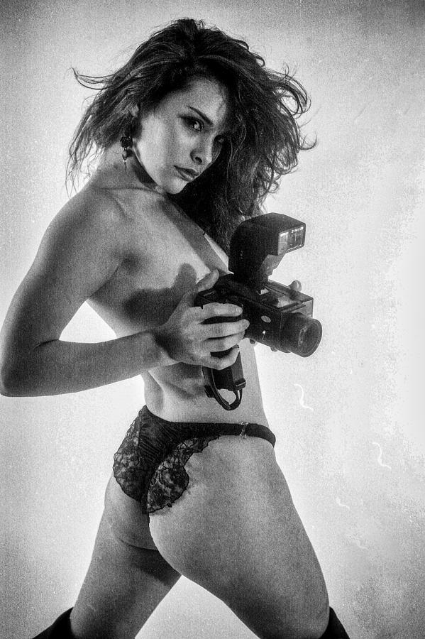 Nude Photograph - Take Your Picture? by J Michael Runyon
