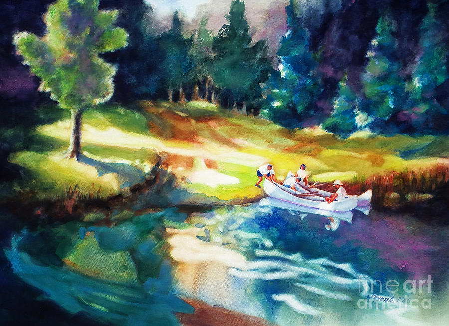 Painting All Painting - Taking A Break 2 by Kathy Braud