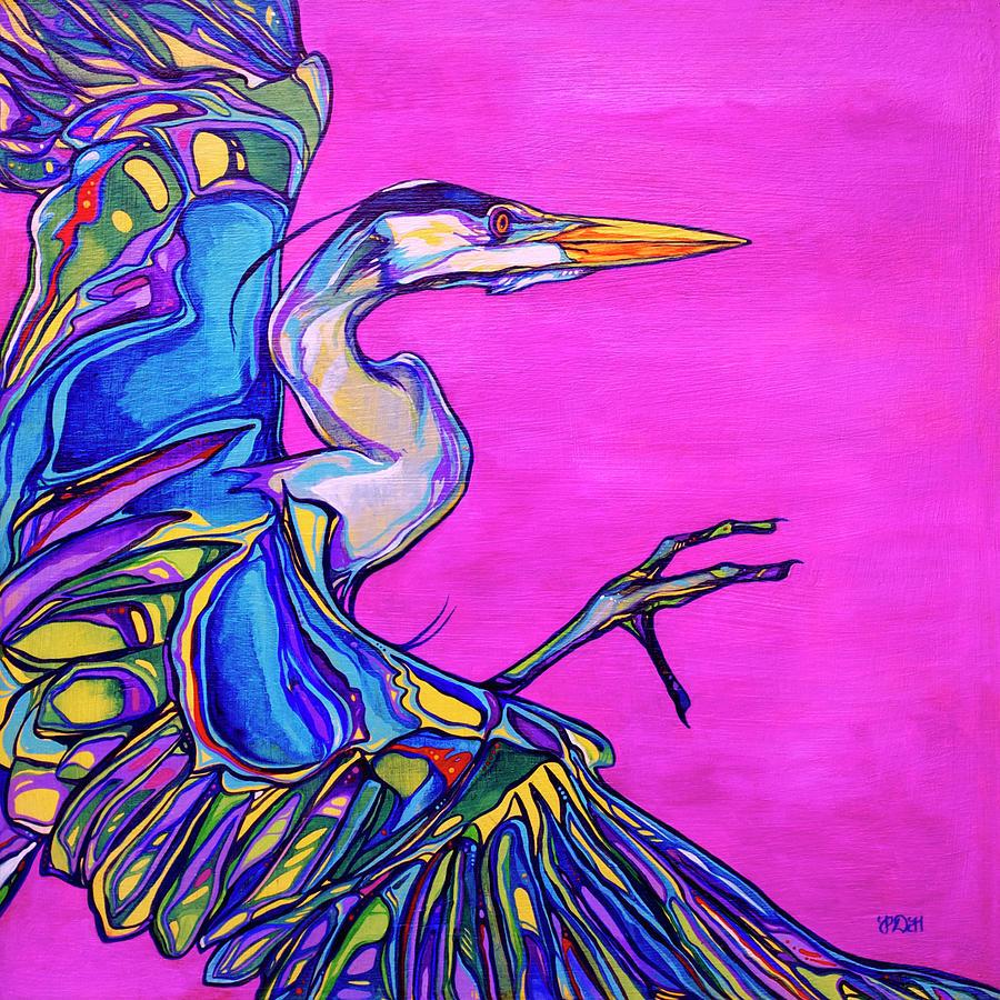 Animals Paintings Painting - Taking Flight by Derrick Higgins