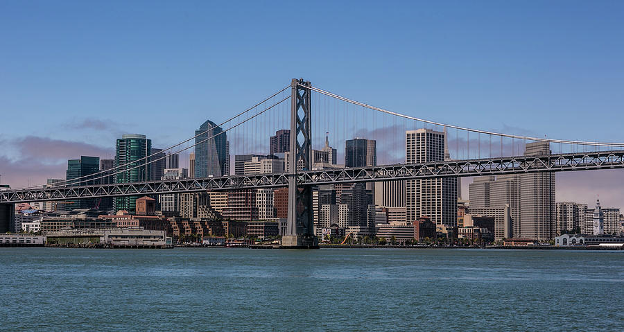 Taking The San Francisco Bay Ferry To Photograph by George Rose