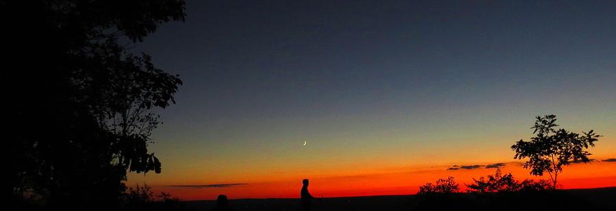 Talcott Mountain Photograph - Talcott Mountain Sunset by Stephen Melcher