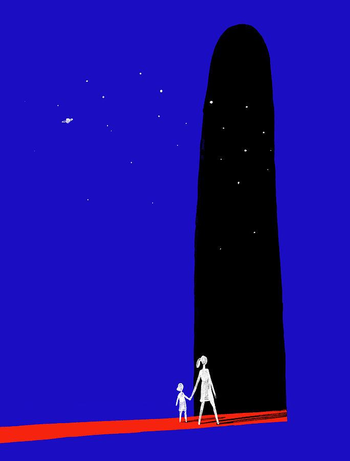 Tales From An Uncertain Future Digital Art by Christoph Niemann