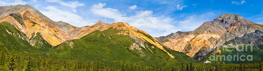 Alaska Photograph - Talkeetna Mountains by Chris Heitstuman