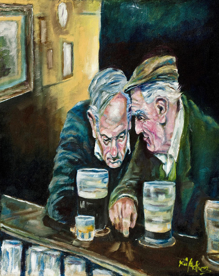 Irish Painting - Talking Treason by Kevin McKrell