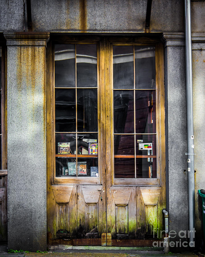New Orleans Photograph - Tall Doors by Perry Webster