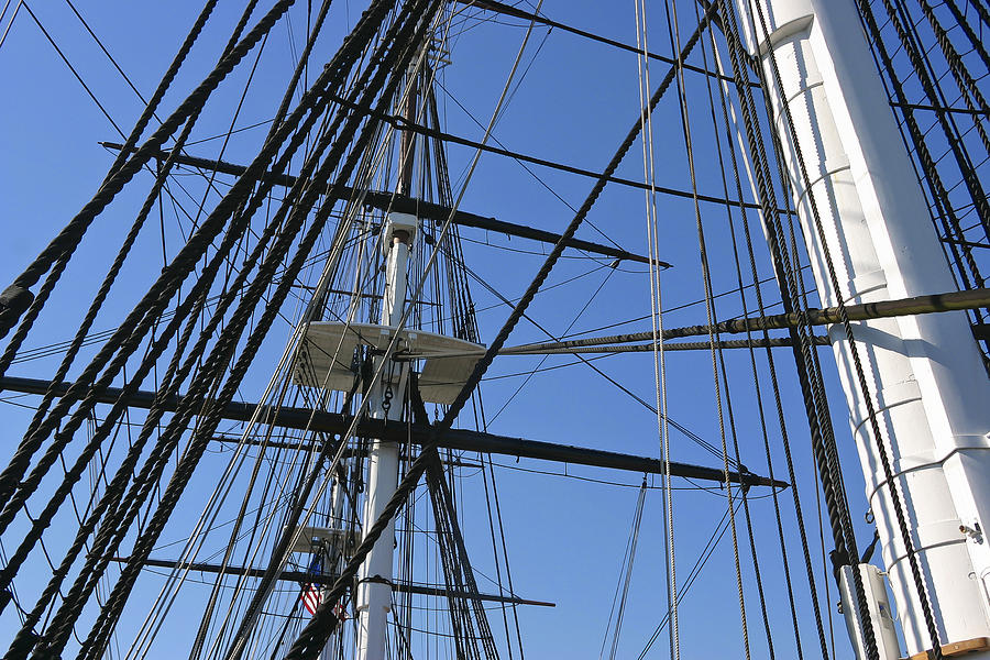 Rigging Photograph - Tall Ship I by Mark McKinney