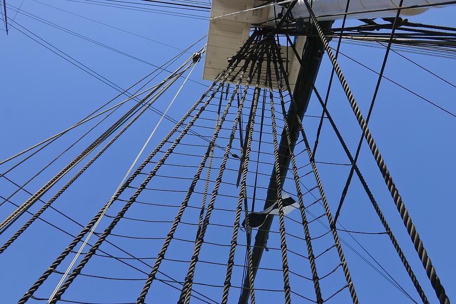 Rigging Photograph - Tall Ship IIi by Mark McKinney