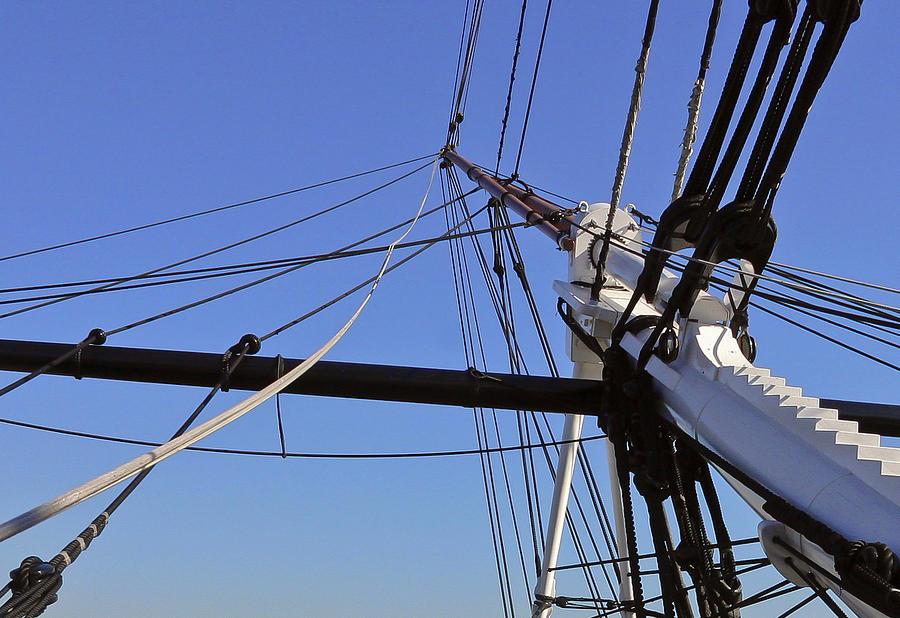 Ship Photograph - Tall Ship Iv by Mark McKinney