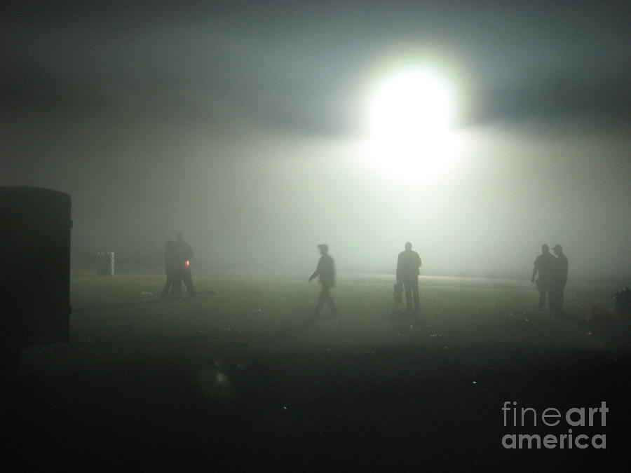 Fog Digital Art - Talladega Night by Matthew Seufer