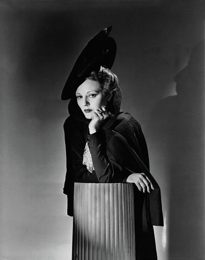 Tallulah Bankhead For The Play The Little Foxes Photograph by Horst P. Horst