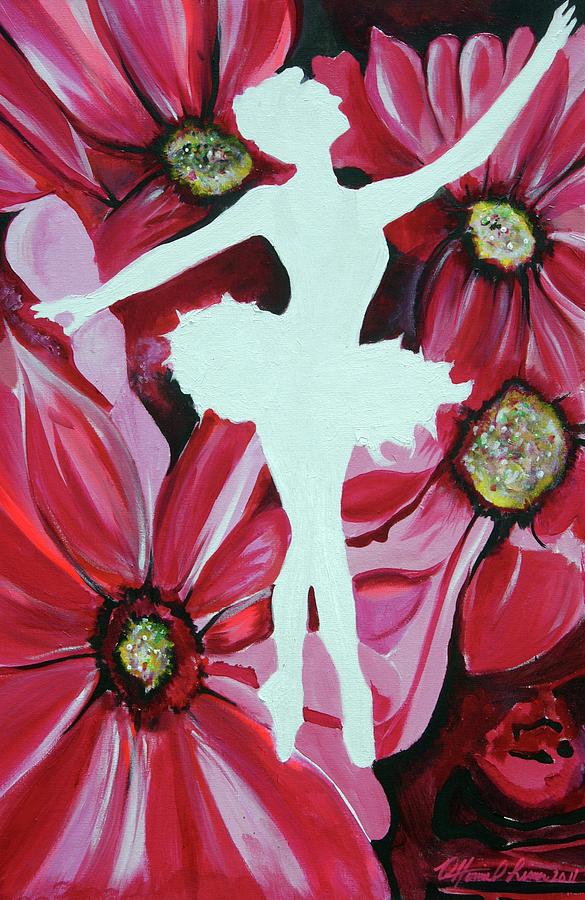 Tony Lima Painting - Talyntheballerina by Ottoniel Lima