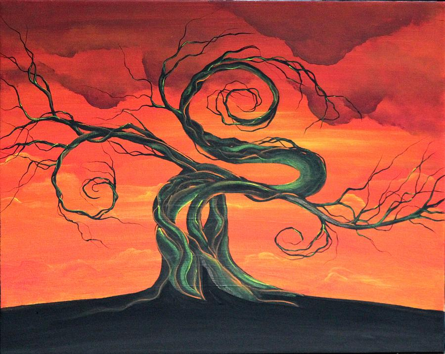 Landscape Painting - Tammys Dream by Angie Phillips