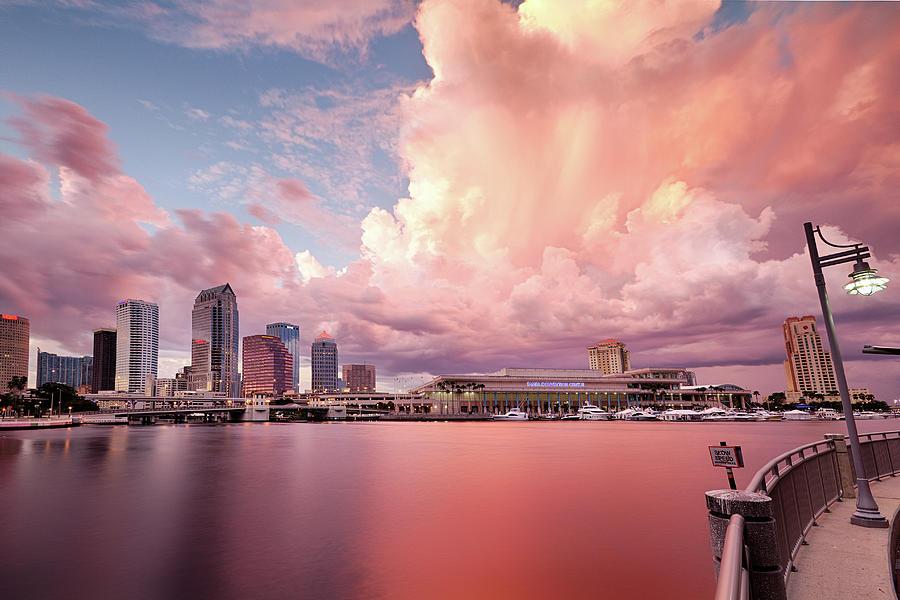 Tampa Bay City Photograph by Alex Baxter
