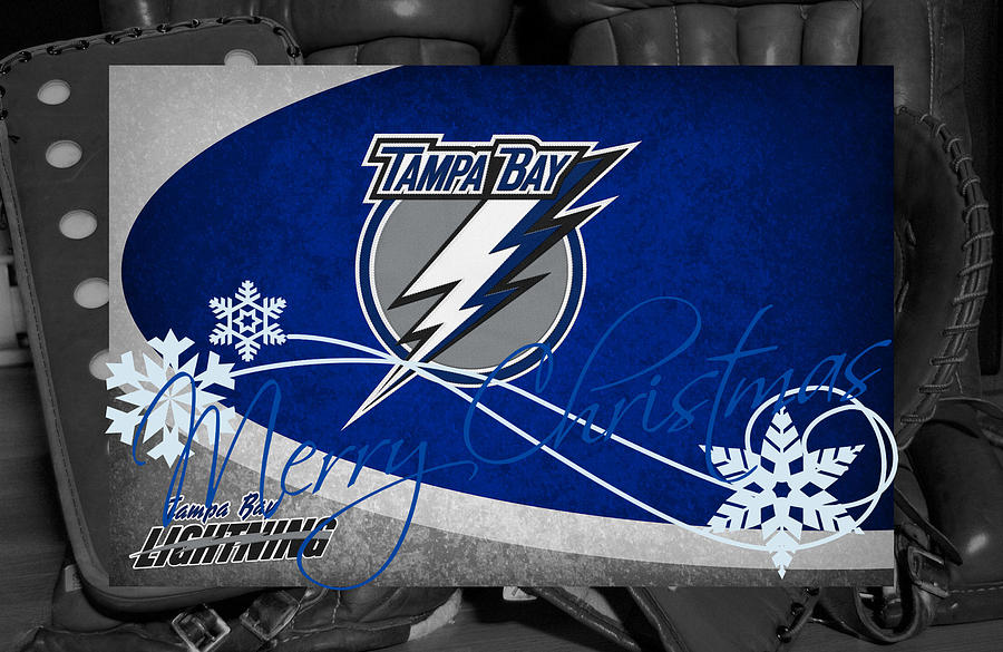 Tampa Bay Lightning Christmas Photograph By Joe Hamilton