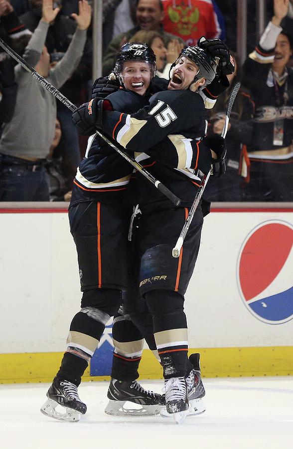 Tampa Bay Lightning V Anaheim Ducks Photograph by Jeff Gross