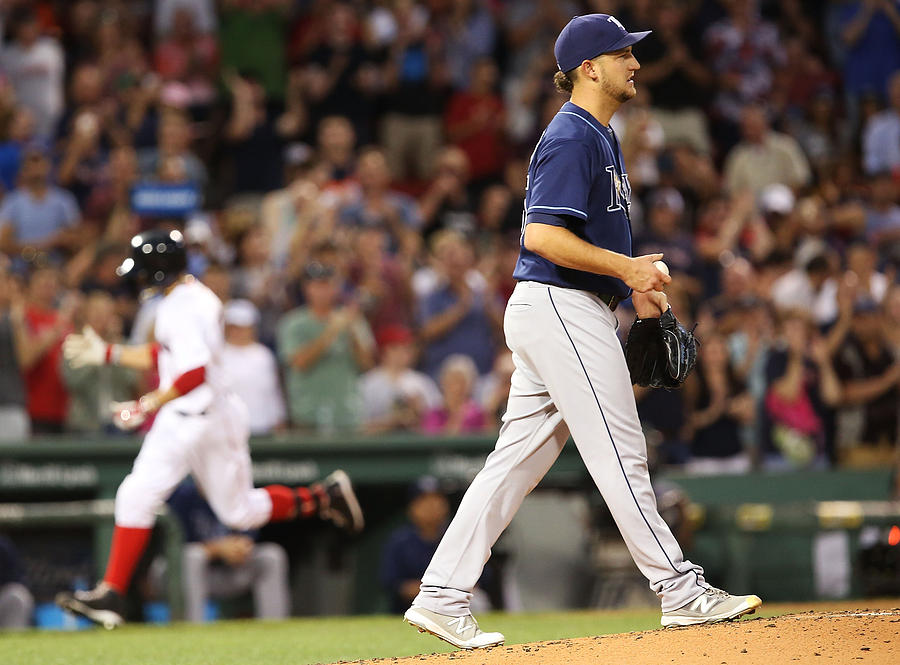 Tampa Bay Rays v Boston Red Sox Photograph by Adam Glanzman