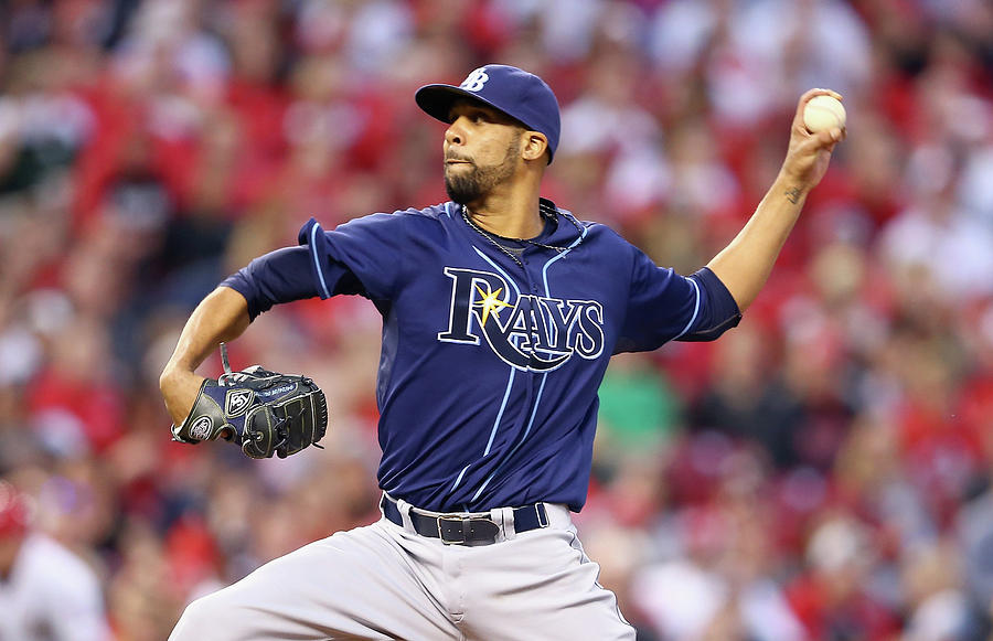 Tampa Bay Rays V Cincinnati Reds Photograph by Andy Lyons