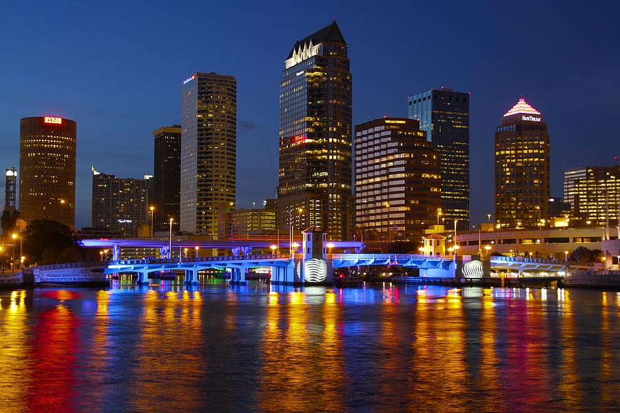 Tampa Skyline Photograph By Lori Burrows