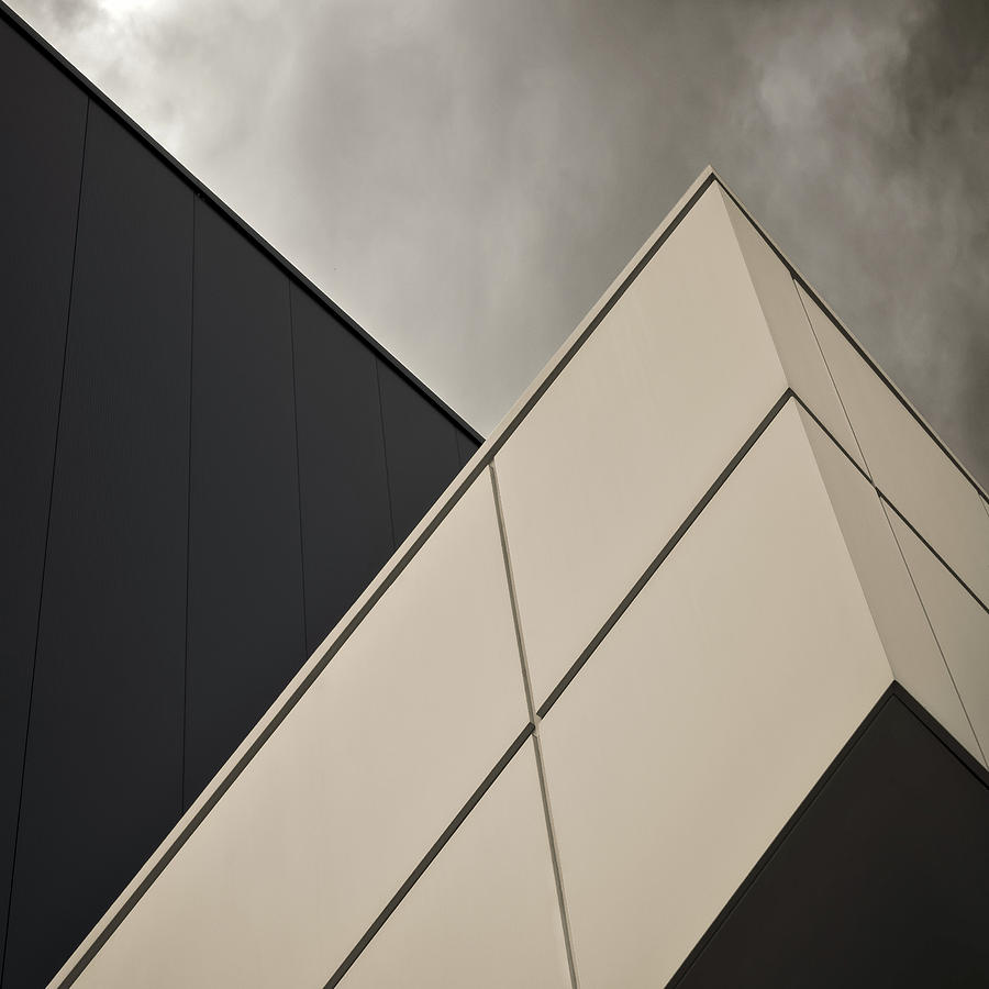 Architecture Photograph - Tangential by Gilbert Claes