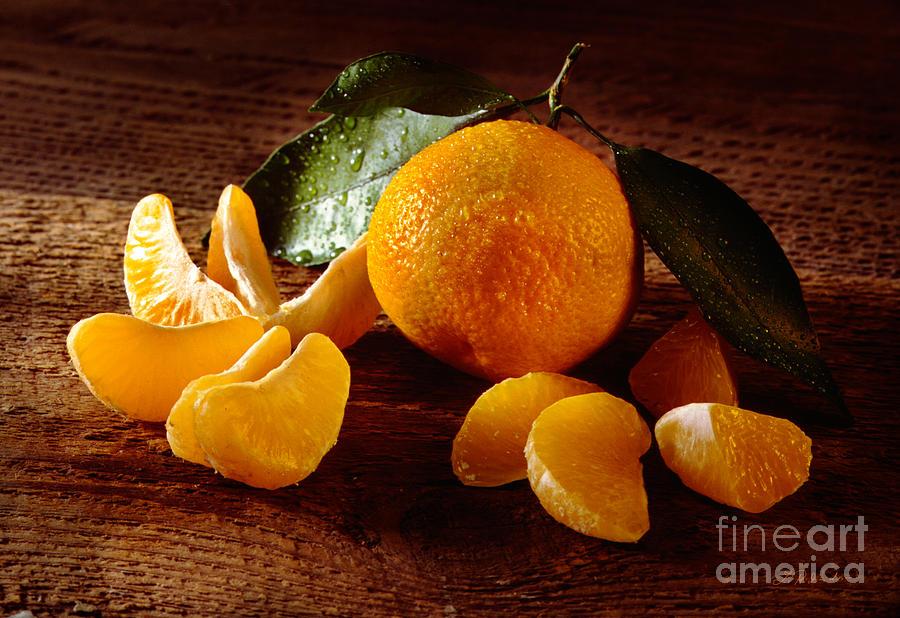 Food Photography Photograph - Tangerine by Iris Richardson