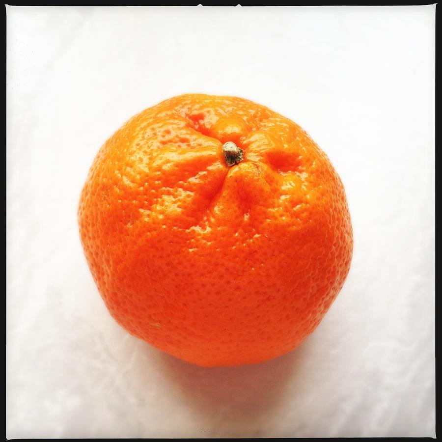 Tangerine Photograph - Tangerine by Matthias Hauser