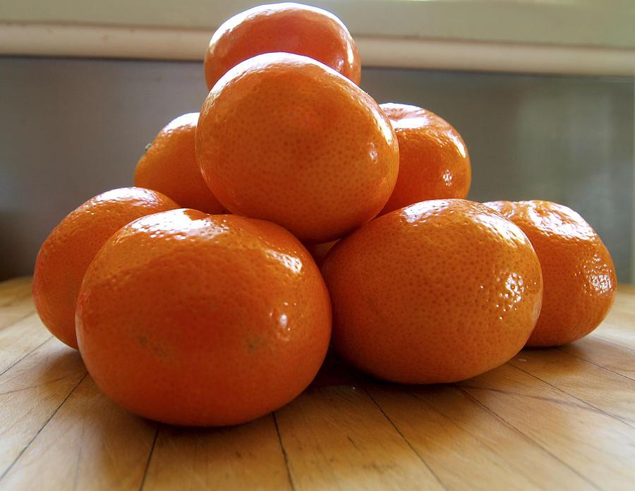 Fruit Photograph - Tangerined by Joe Schofield