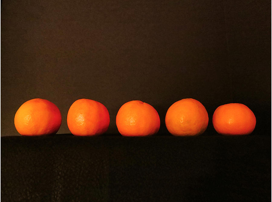 Fruit Photograph - Tangerines by Patricia Januszkiewicz