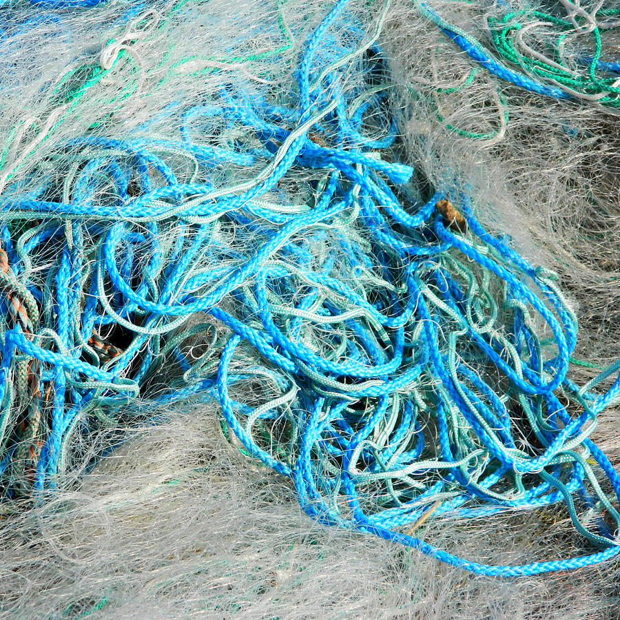 Fishing Nets Photograph - Tangled by Sharon Lisa Clarke