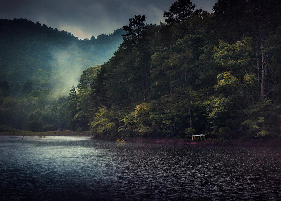 River Photograph - Tanglewood Lake by William Schmid