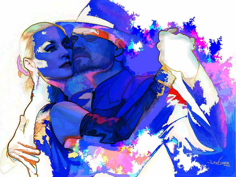 Tango Argentino Mixed Media - Tango Argentino - Pride And Devotion by Reno Graf von Buckenberg