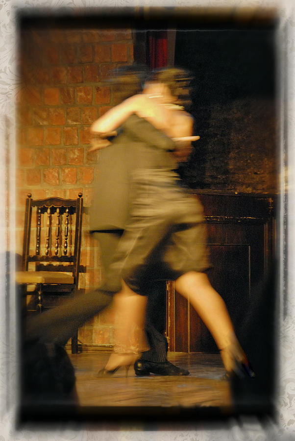 Slow Dance Photograph - Tango Connection by Steven Boone