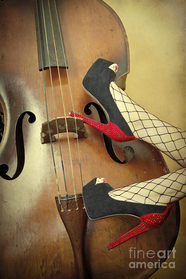 Antique Photograph - Tango For Strings by Evelina Kremsdorf