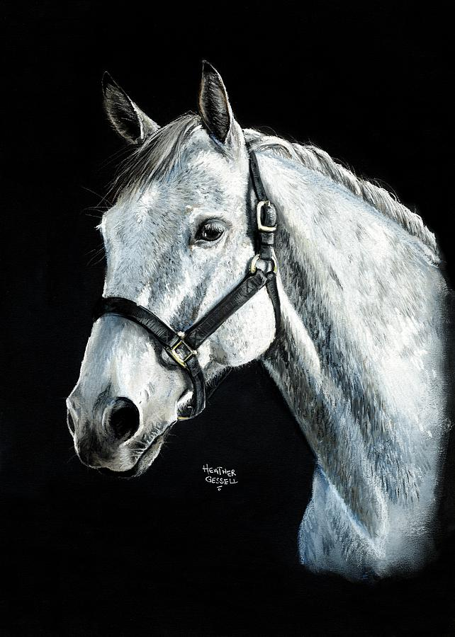 Horse Pastel - Tango by Heather Gessell