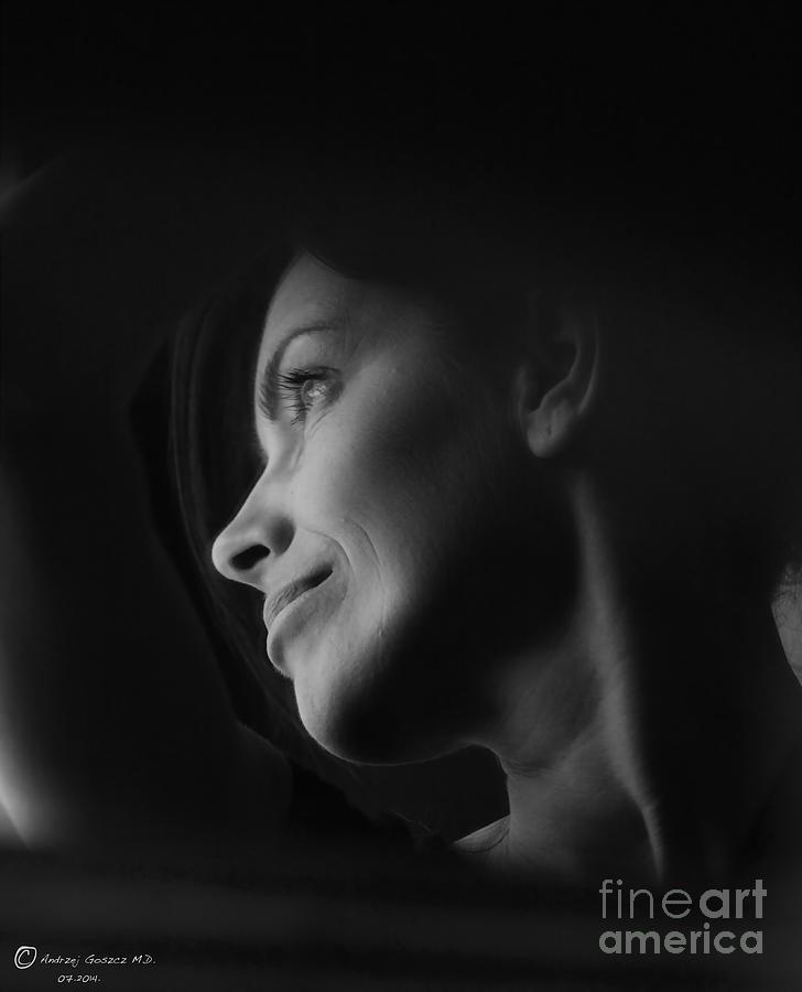 Face Photograph - Tango To Jest Lasky Wysnane - He See  S  Us by  Andrzej Goszcz