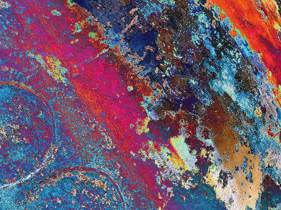 Abstract Mixed Media - Tango by Tom Druin