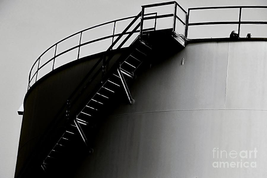 Black And White Photograph - Tank by Amar Sheow
