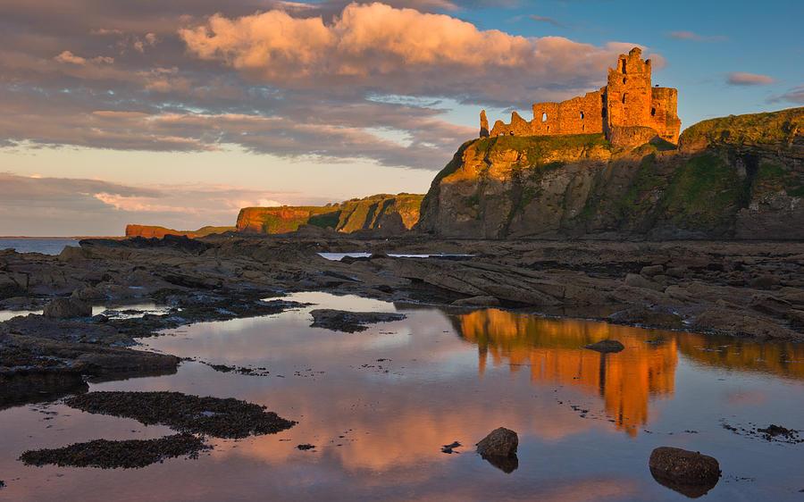 Lothian Photograph - Tantallon Castle by David Ross