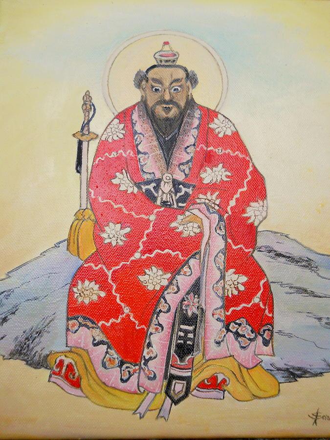 Taolin Founder Painting