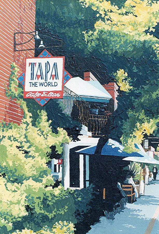 Sacramento Painting - Tapa The World by Paul Guyer
