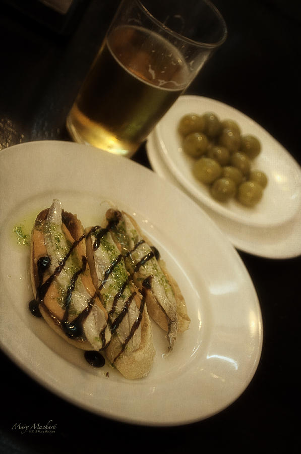 Tapas Photograph - Tapas In Seville by Mary Machare