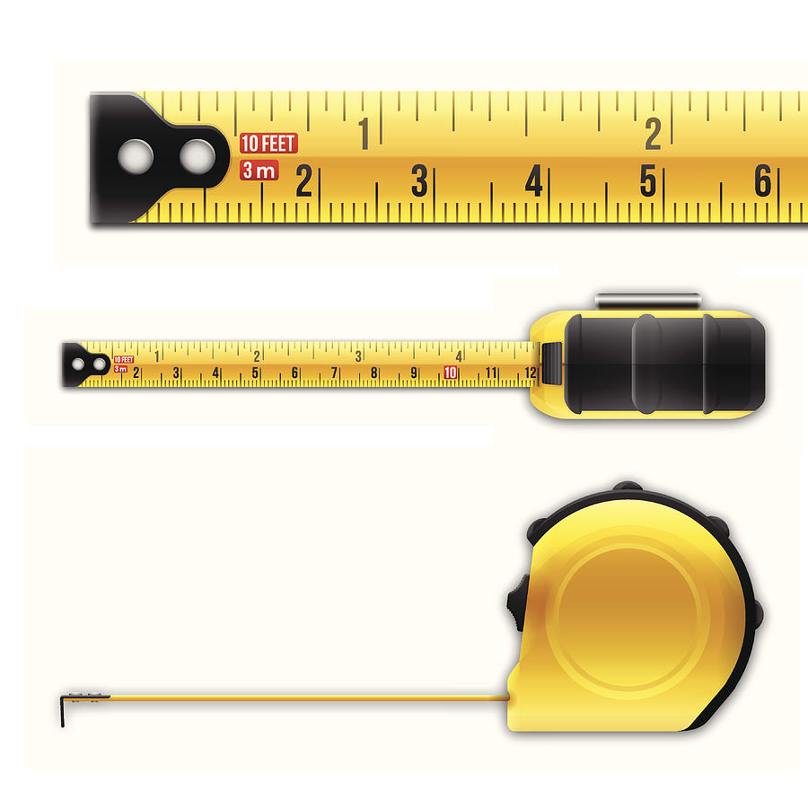 Tape Measure Drawing by Filo