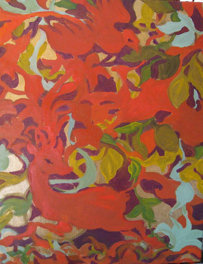Tapestry Painting - Tapestry by Julie Todd-Cundiff