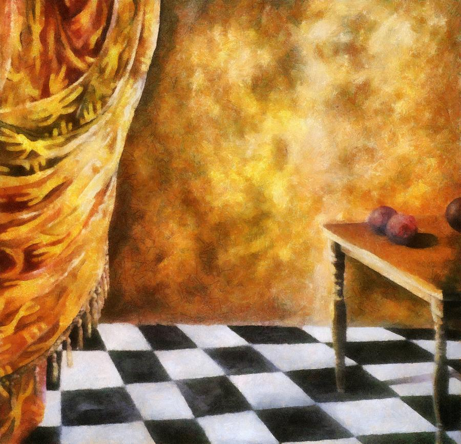 Tapestry Painting - Tapestry by Michelle Calkins