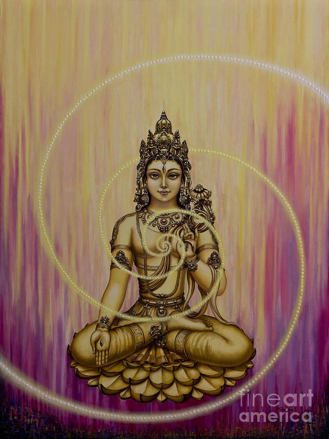 Tara Painting - Tara by Yuliya Glavnaya
