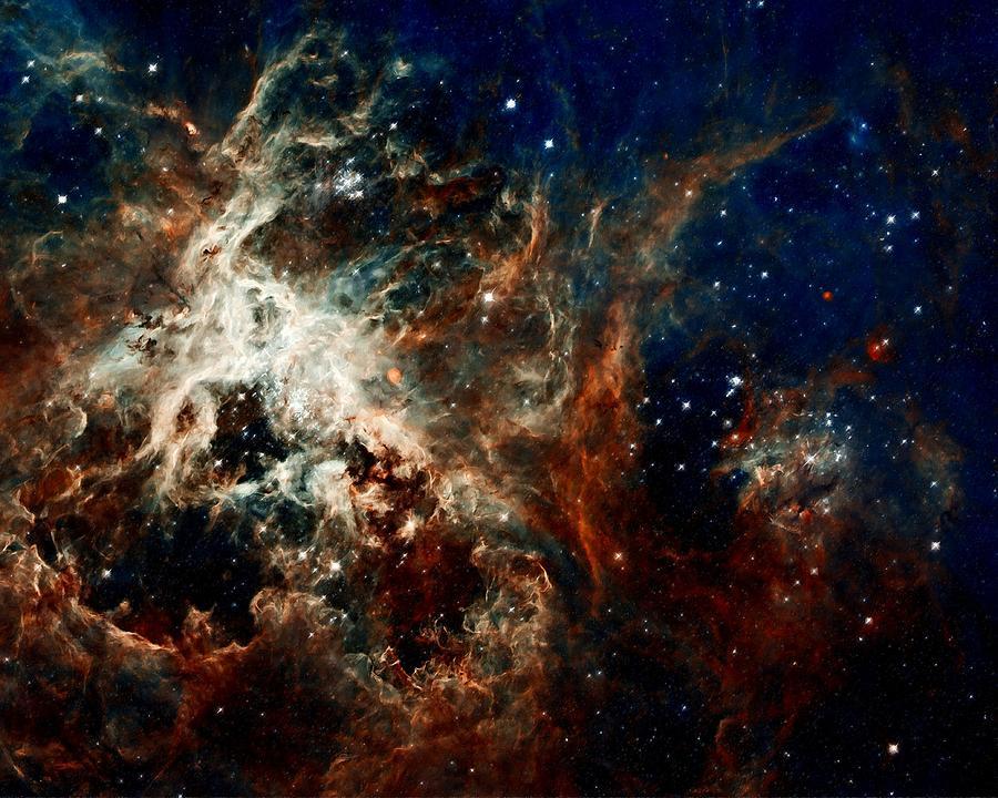 Hubble Photograph - Tarantula Nebula by Amanda Struz