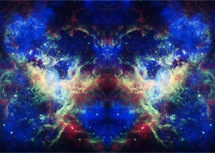 Tarantula Nebula Photograph - Tarantula Reflection 1 by Jennifer Rondinelli Reilly - Fine Art Photography