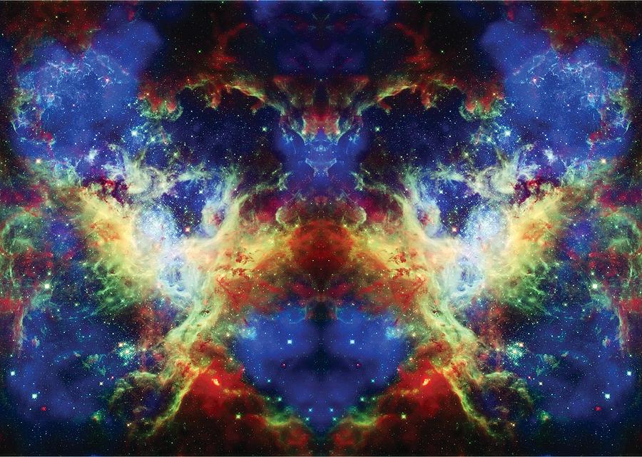 Tarantula Nebula Photograph - Tarantula Reflection 2 by Jennifer Rondinelli Reilly - Fine Art Photography