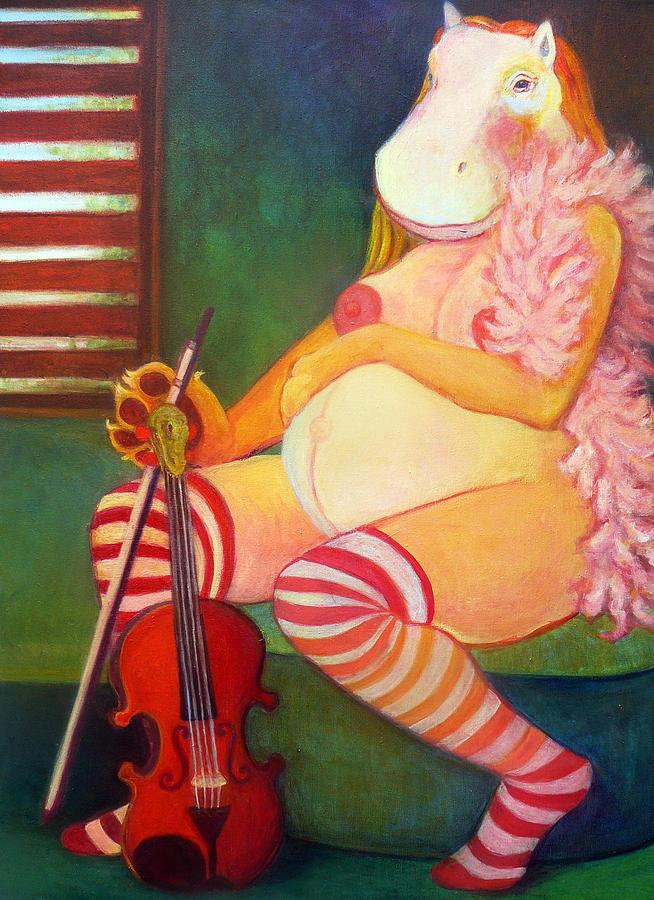 Tarawet Painting - Tarawet by Deenie Wallace